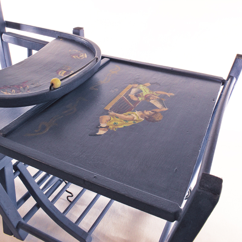 Chaise haute bébé gourmand