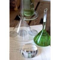 Fiole de laboratoire en verre JEKYLL