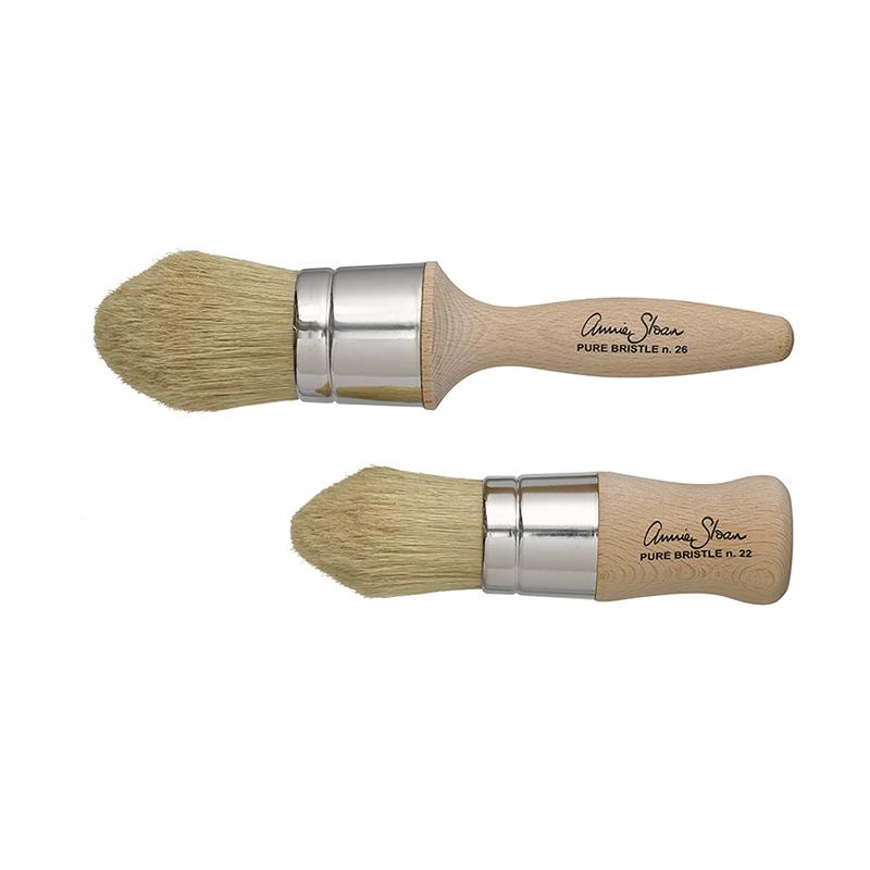 pinceaux pour appliquer la cire annie sloan