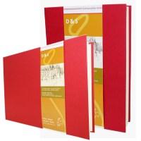 Livre croquis D&S rouge A4