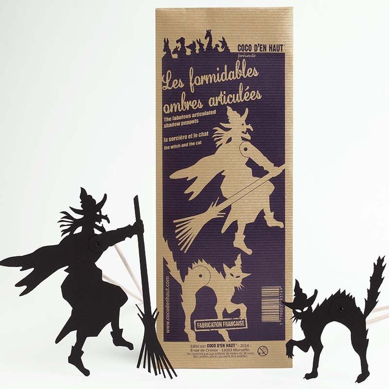 marionnettes articulées pour théâtre d'ombres, jouet pour enfant