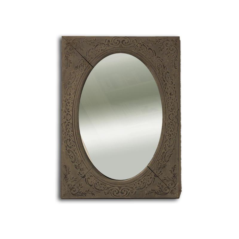 Miroir encadré romantique