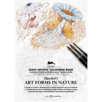 Coloring book géant ARTFORMS IN NATURE