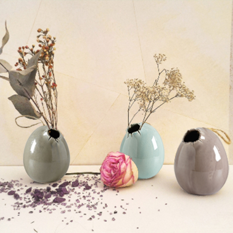 Oeuf vase à suspendre SHELLY