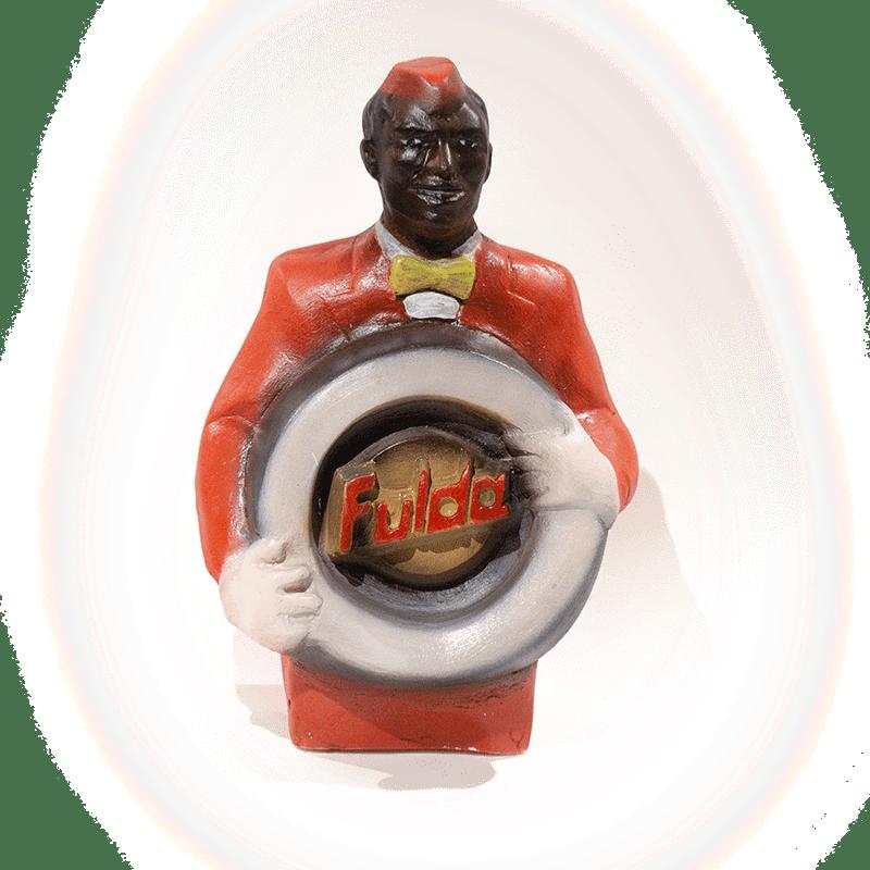 Plâtre publicitaire vintage FULDA