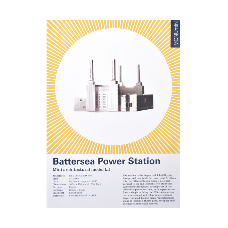 Monumini BATTERSEA POWER mini maquette