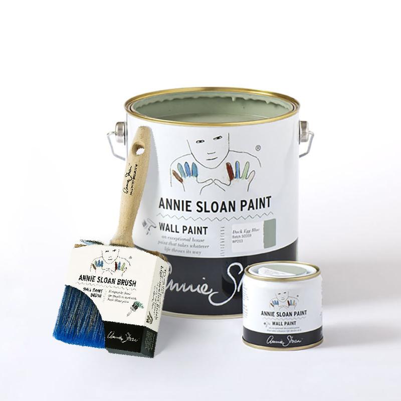 ensemble de la gamme de Wall Paint d'Annie Sloan