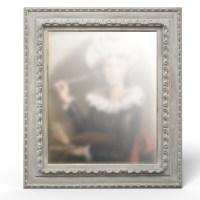 Cadre renaissance relooké par La Fée Caséine avec la peinture décoration Chalk Paint d'Annie Sloan