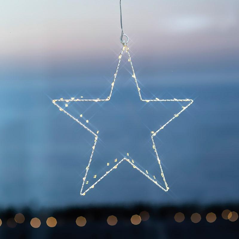 Etoile suspension Liva Star White 2 La Fée Caséine
