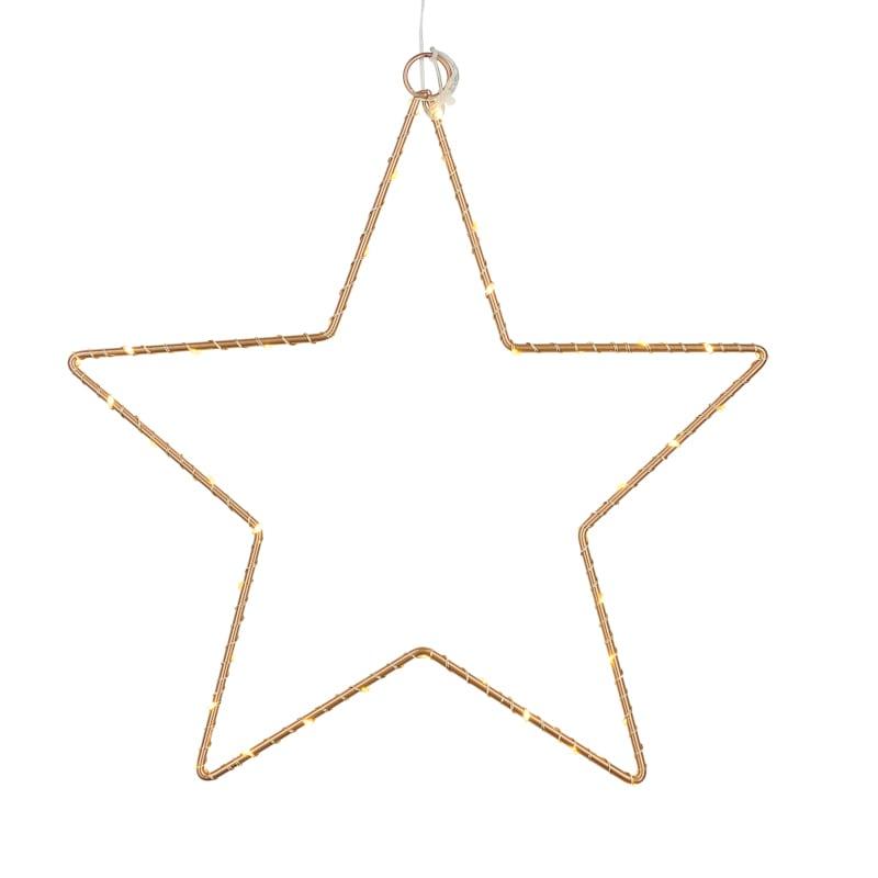 Etoile suspension Liva Star gold La Fée Caséine