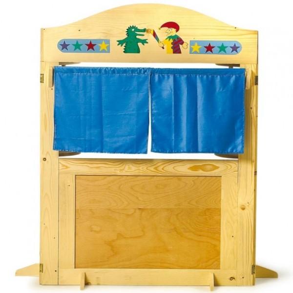 Magasin vario thtre et tal marchande en bois pour enfant  la fe du jouet