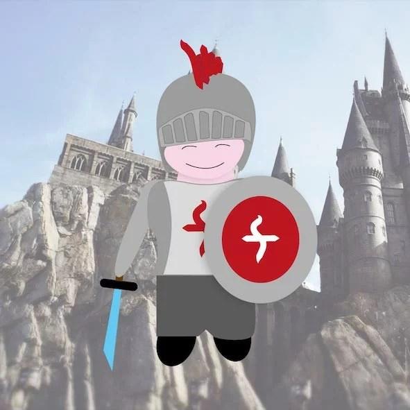 Chevalier animation anniversaire enfants