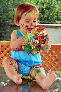rire enfant coeur