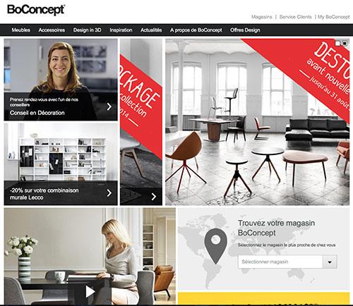 Boconcept vente en ligne Meuble Design