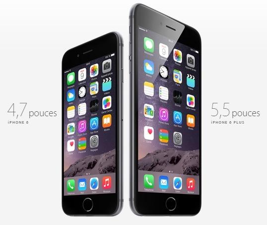 Iphone 6 et iphone 6 plus, les prix et infos