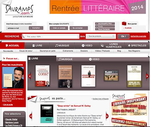 Sauramps la librairie en ligne