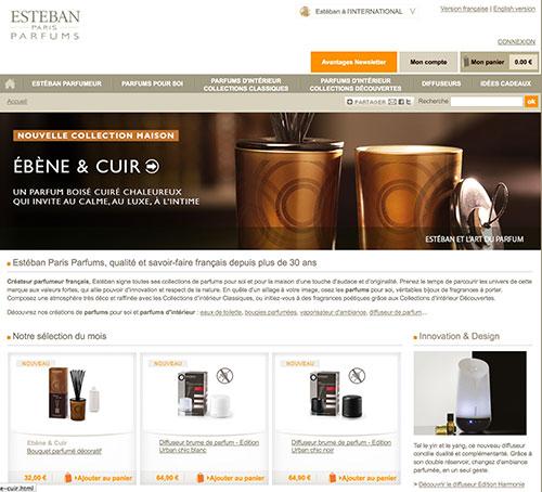 Acheter du Parfum d'ambiance ou des bougies sur Esteban