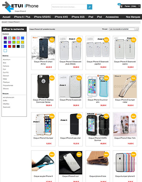 Etui-iphone.com coque et accessoires pour Iphone