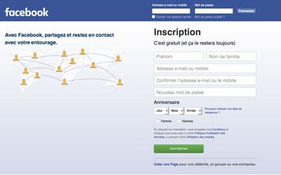 Créer un compte Facebook gratuit rapidement