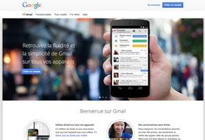 Créer un compte Gmail gratuit rapidement