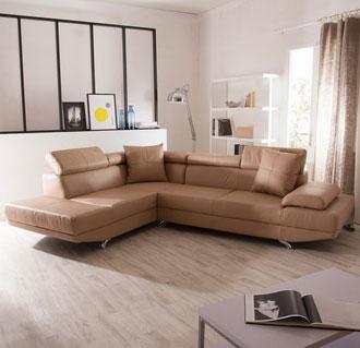 Canapé angle cuir pas cher promotion internet