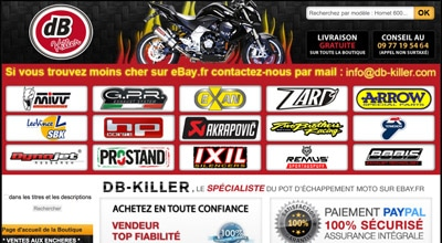 code promo db killer moto