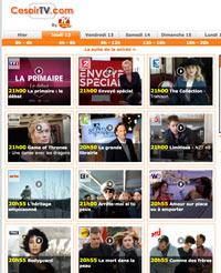 CeSoirTV : Programme TV gratuit du jour, soir ou semaine