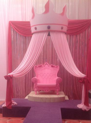Pink Party City Salon de Fiesta Para Nias  La Feria De