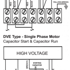 Wiring Diagram Of A Single Phase Motor With Two Capacitors Venn Comparing Prokaryotic And Eukaryotic Cells Lafert North America Training Center S Dual Voltage Motors Are Versatile Choice For Any Application Where The End User Would Benefit From Having Option Running