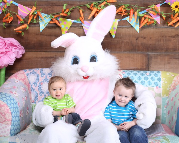 Patrick and DW, Easter 2016