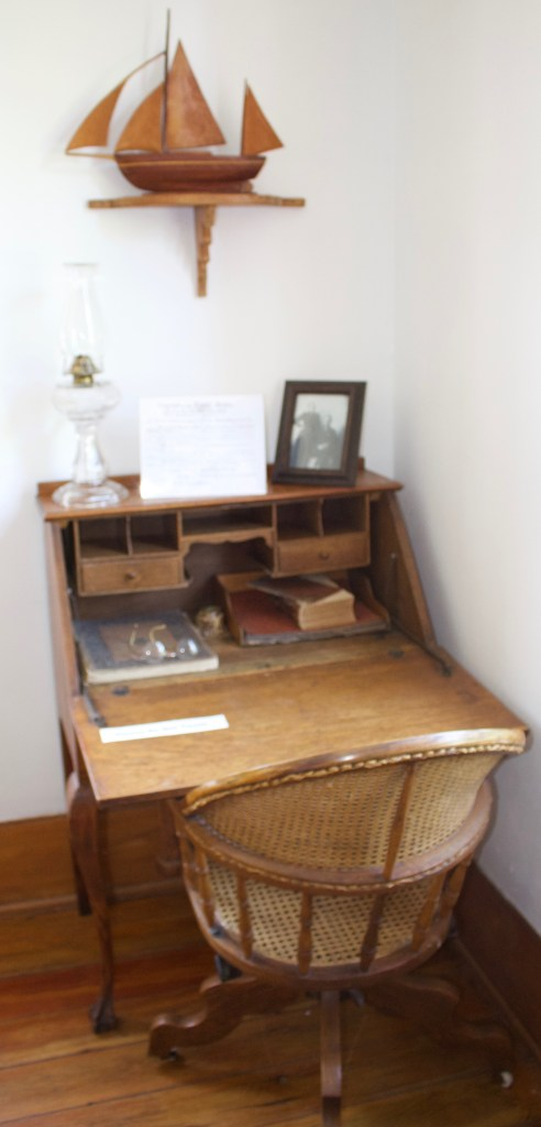 Writing Desk at the Eagle Bluff Lighthouse