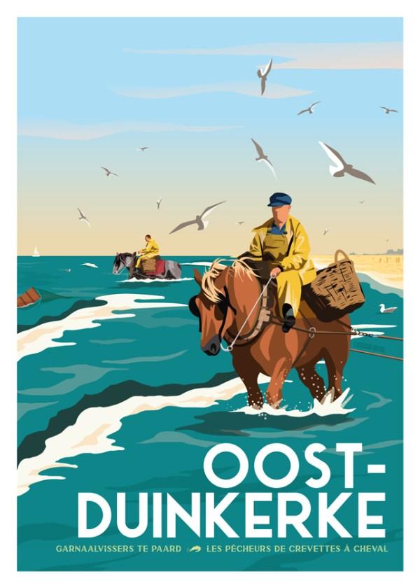 Affiche Oostduinkerke
