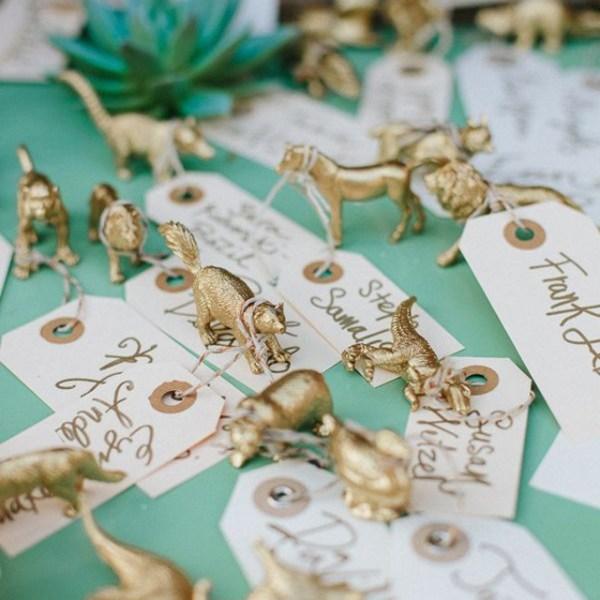Plan de table mariage dore inspiration et idee - La Fiancee du Panda blog mariage