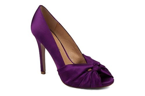 chaussures mariage osez le violet