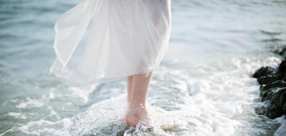 Mariage bord de mer romantique Lovely Pics 2