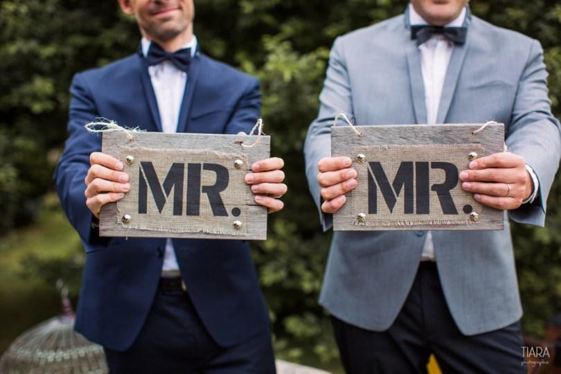 Mariage gay homo - idees deco - Tiara Photographie LaFianceeduPanda.com 1