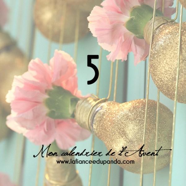 calendrier de l avent 5 DIY vases ampoules - La Cerise sur L'anneau - LaFianceeduPanda.com 7 copie