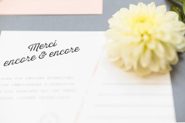 mister m studio faire part mariage remerciements ferdinand - LaFianceeduPanda.com