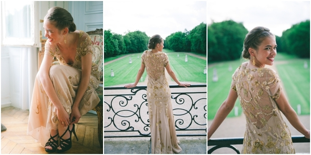 Robe de mariee Jenny Packham nude et doree - Photo Loove photography - La Fiancee du Panda Blog mariage-57