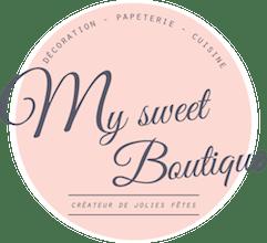 My Sweet boutique logo en ligne deco mariage EVJF babyshower - La Fiancee du Panda Blog Mariage et Lifestyle