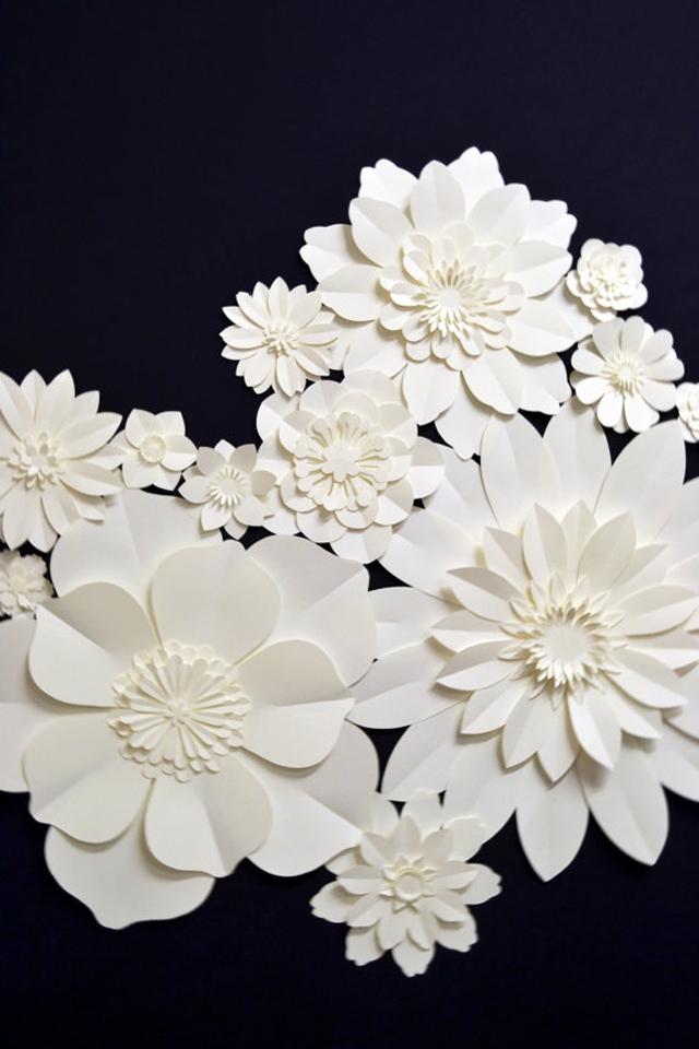 Inspiration Deco L Affaire Des Fleurs En Papier Geantes