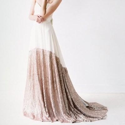 Robe-de-mariee-paillettes-or-rose-Truvelle-modele-Sierra-Etsy-La-Fiancee-du-Panda-blog-Mariage-et-Lifestyle