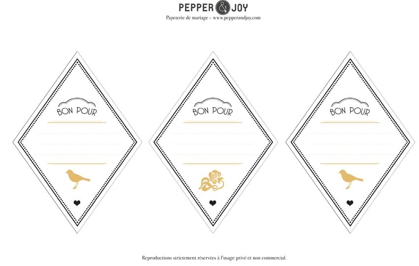 Bons pour cadeaux de Noel a imprimer soi-meme - Pepper and Joy - La Fiancee du Panda blog mariage-3