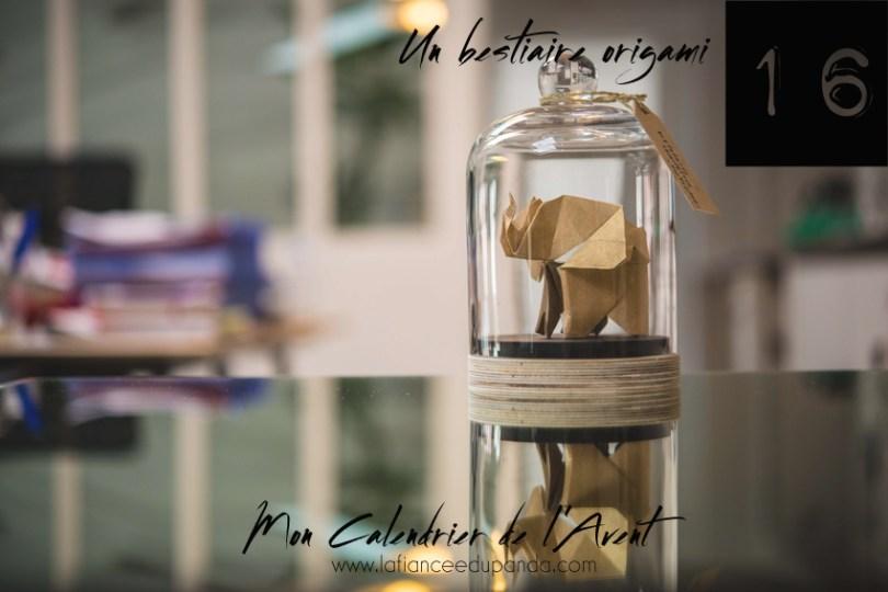 Florigami cabinet de curiosite origami DIY - Calendrier de l'Avent blogueuse - La Fiancee du Panda blog mariage