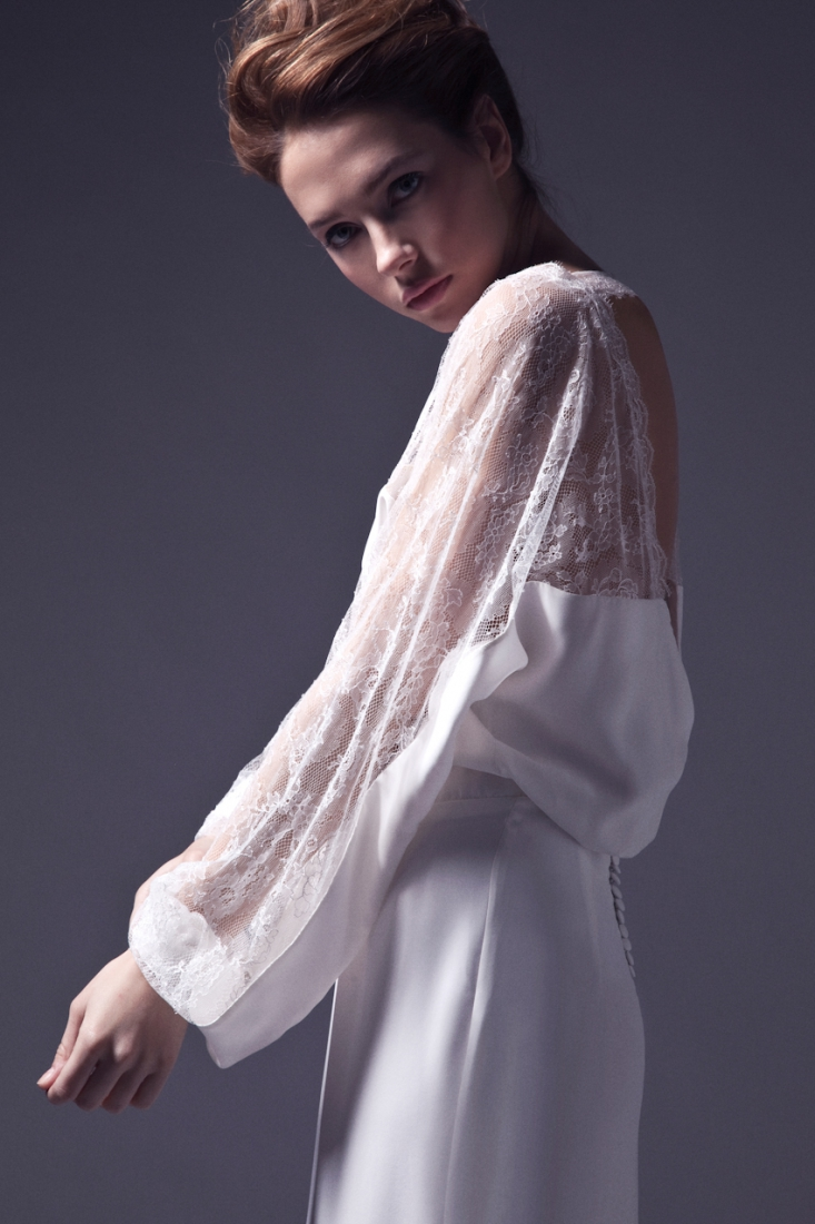 Meryl Suissa robe de mariee sur mesure Paris collection 2015 - La Fiancee du Panda blog mariage-- robe Charly