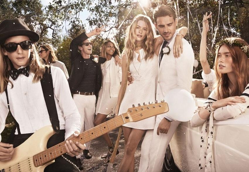 I do Hilfiger 2015 ad campaign Tommy Hilfiger wedding - La Fiancee du Panda blog mariage