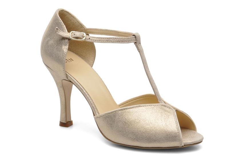 Chaussures dorees mariage l Salomes Eowin Eden l La Fiancee du Panda blog  mariage