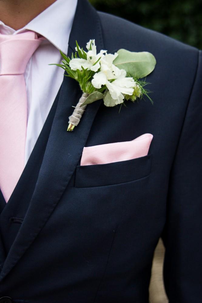 Glamour Ides Pour Une Dco De Mariage Rose Et Dore