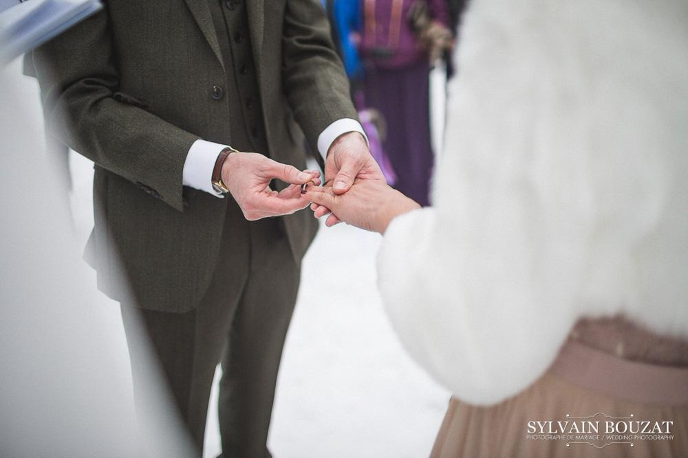 Mariage a Chamonix montagne hiver l Photographe Sylvain Bouzat l La Fiancee du Panda blog mariage--33