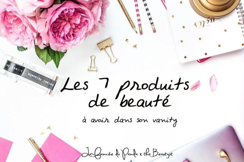 Produits de beauté mariee The Beautyst x La Fiancee du Panda blog mariage